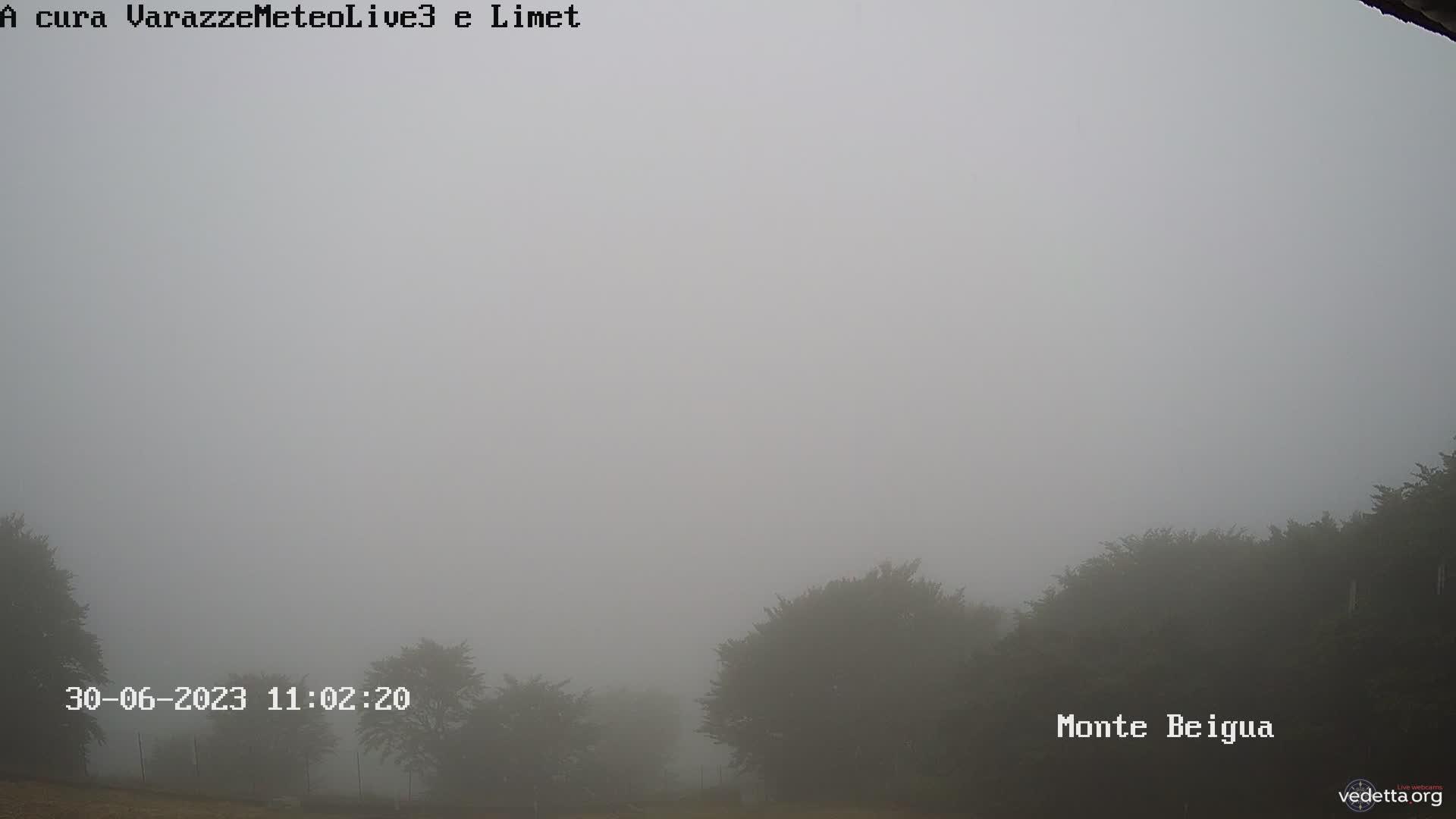 Webcam panoramica monte Beigua